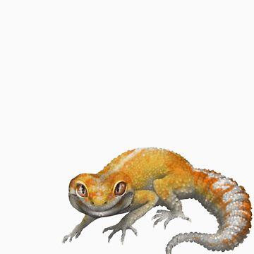 Tangerine Leopard Gecko by knon