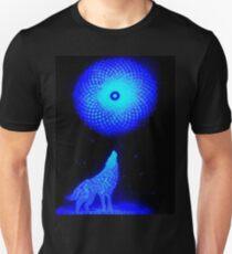 Fractal Moon Cry Unisex T-Shirt