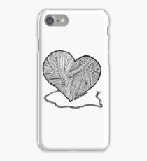 Love to Knit & Crochet iPhone Case/Skin