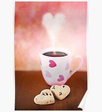 valentine biscuits.. Poster
