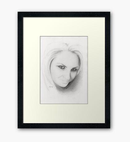 """Gail"" Framed Print"