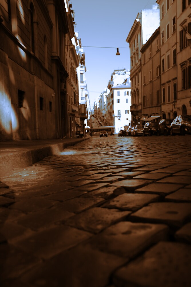 Rome Cobblestones by johnpap