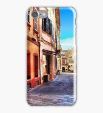 Street Corner, Ciutadella iPhone Case/Skin