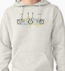 Brompton Bicycle Pullover Hoodie