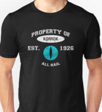 Korrok's School of Insufferable Dick Jokes T-Shirt