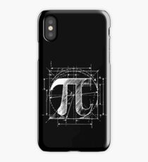 Pi Symbol Sketch iPhone Case/Skin