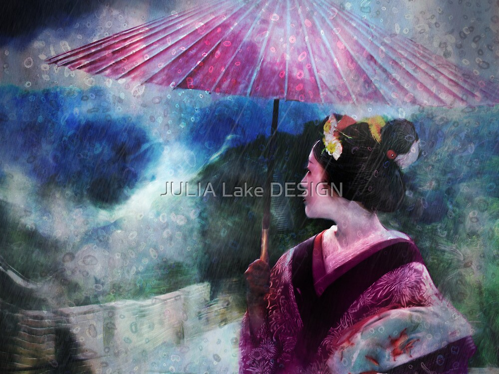 I dreamed of China by JULIA Lake DESIGN