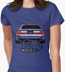 Foxy Körper Mustang Tailliertes T-Shirt für Frauen