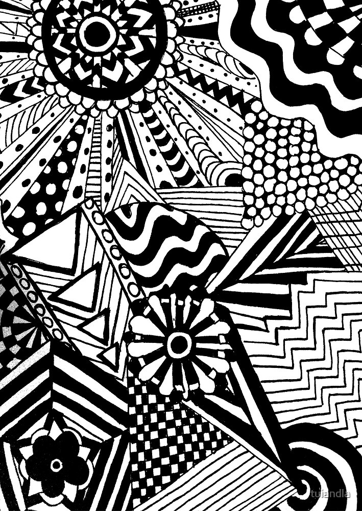 Zentangle 2 by tuiandla