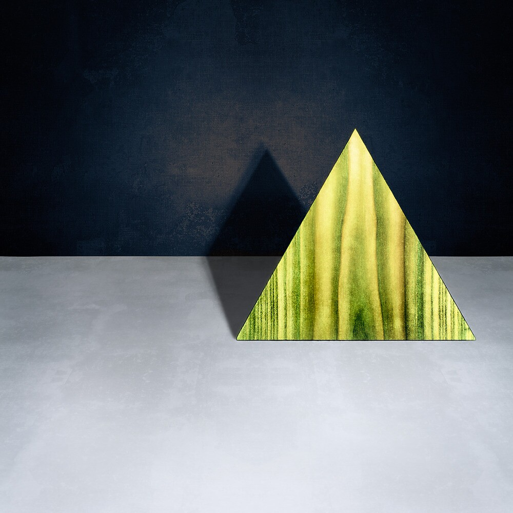 Green Triangle Standing by YoPedro