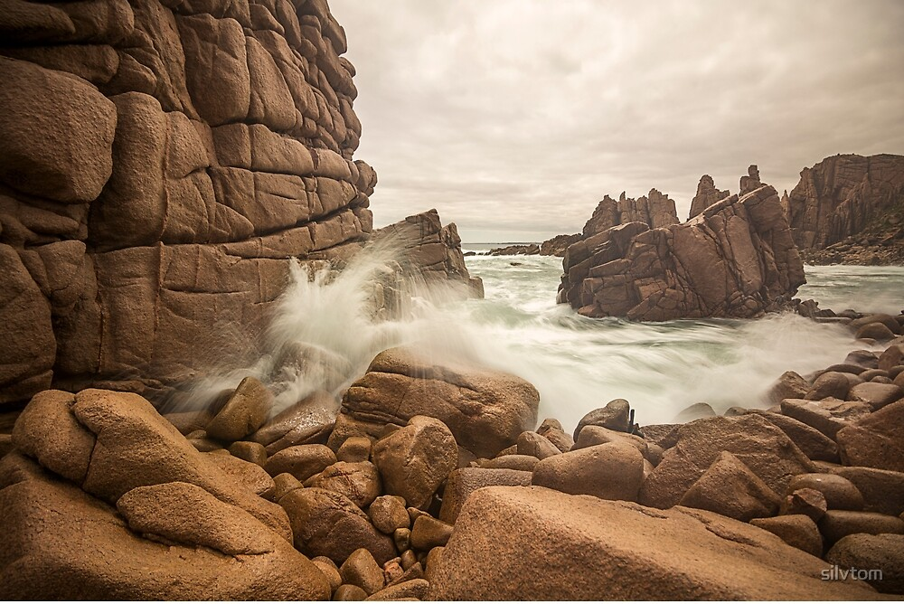 Pinnacles, Cape Woolamai, Phillip Island by Silvia Tomarchio