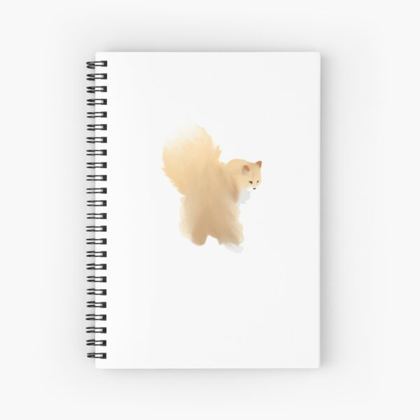 Finnegan the cat Spiral Notebook
