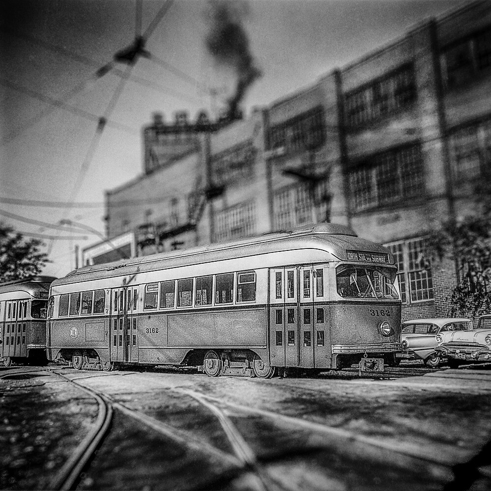 Vintage Streetcar Trolley 2113 by YoPedro