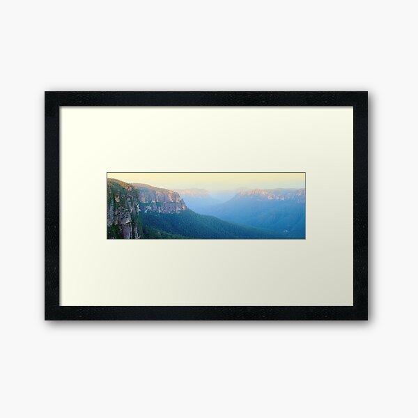 Govetts Leap, Blue Mountains, New South Wales, Australia Framed Art Print