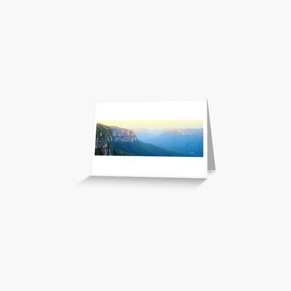 Govetts Leap, Blue Mountains, New South Wales, Australia Greeting Card
