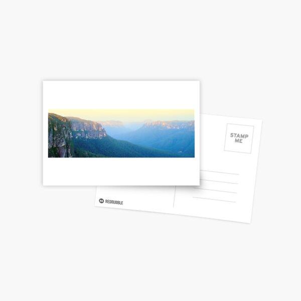 Govetts Leap, Blue Mountains, New South Wales, Australia Postcard