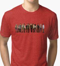 The Walking Dead Cast 2015/16 Tri-blend T-Shirt