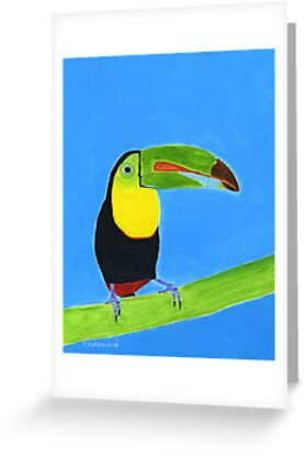 Toucan   Tucán by lulujoy