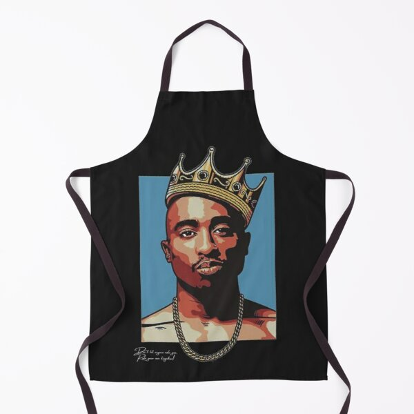 Don't let anyone rule you, Rule your own kingdom! Apron