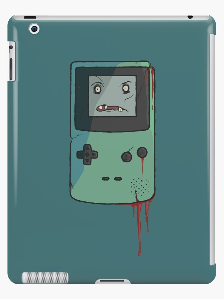 CreepyBoy Colour iPad case by MonsterCrossing