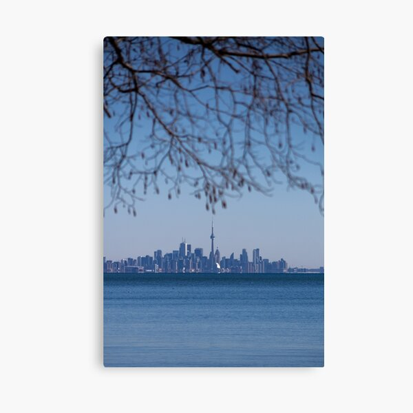Blue Toronto Canvas Print