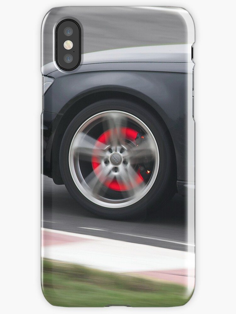 Glowing red hot brake discs by Martyn Franklin