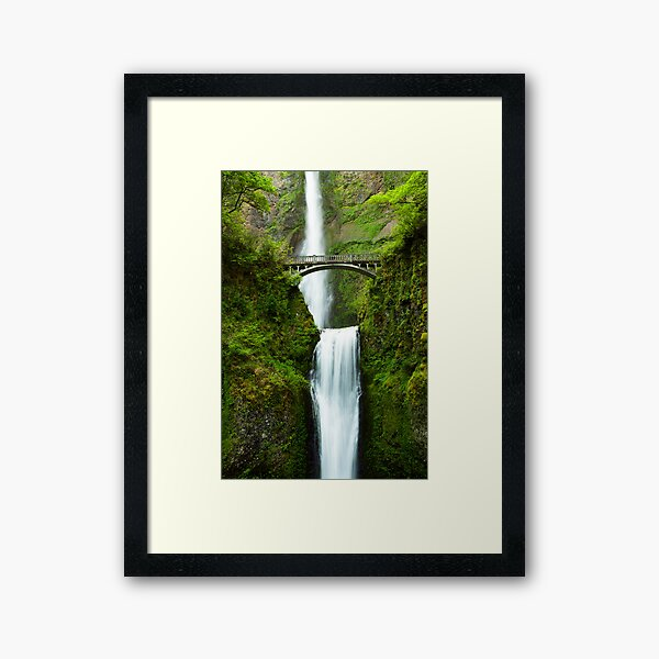 Earth and Water Framed Art Print