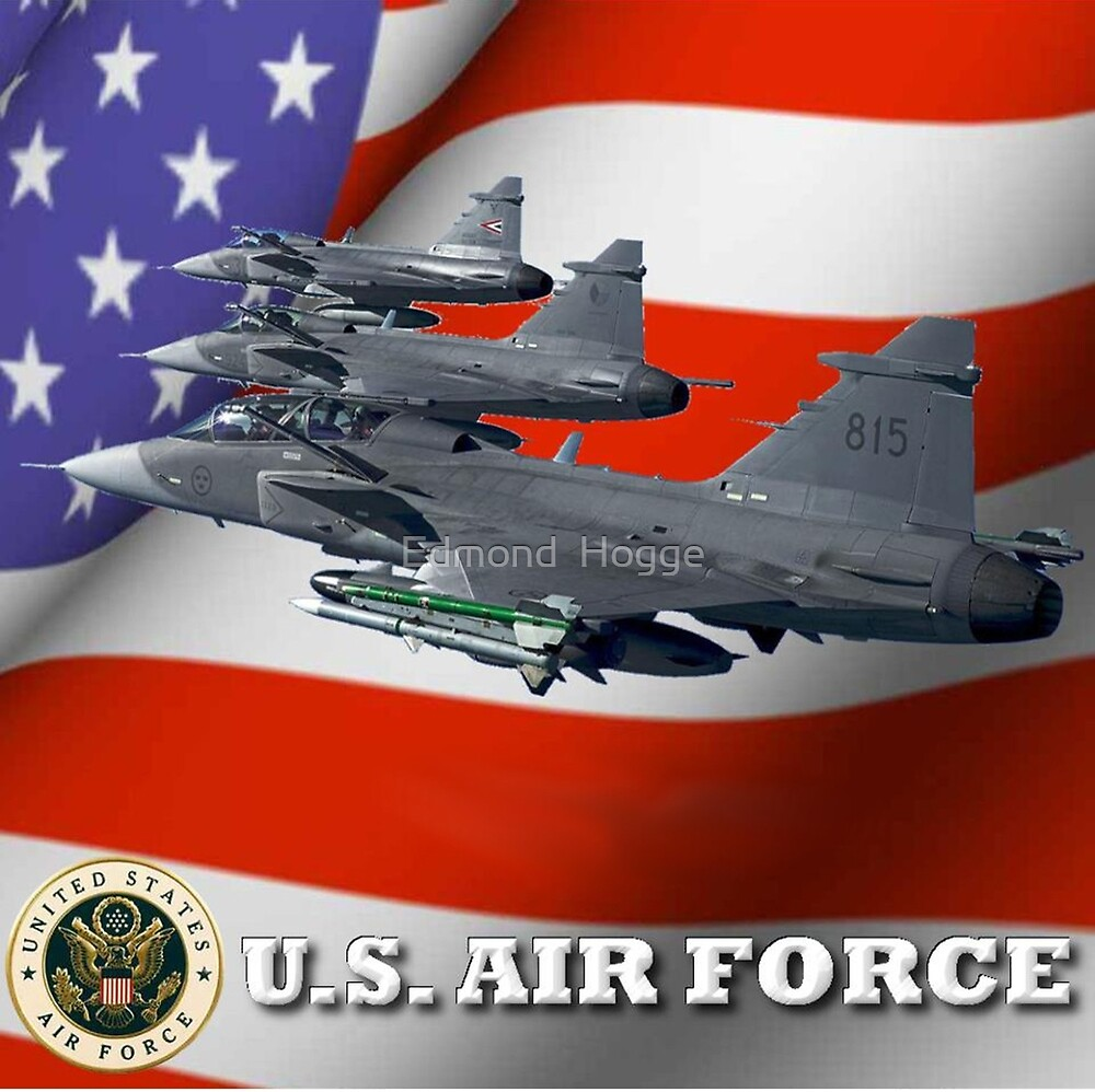 U.S. Airforce by Edmond  Hogge