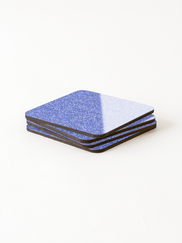 Alternate view of Blue glitter background on to Coasters (Set of 4)