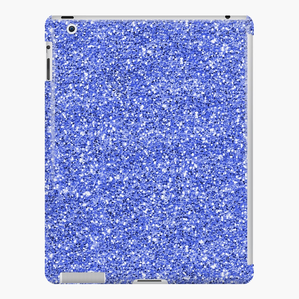 Blue glitter background on to iPad Case & Skin