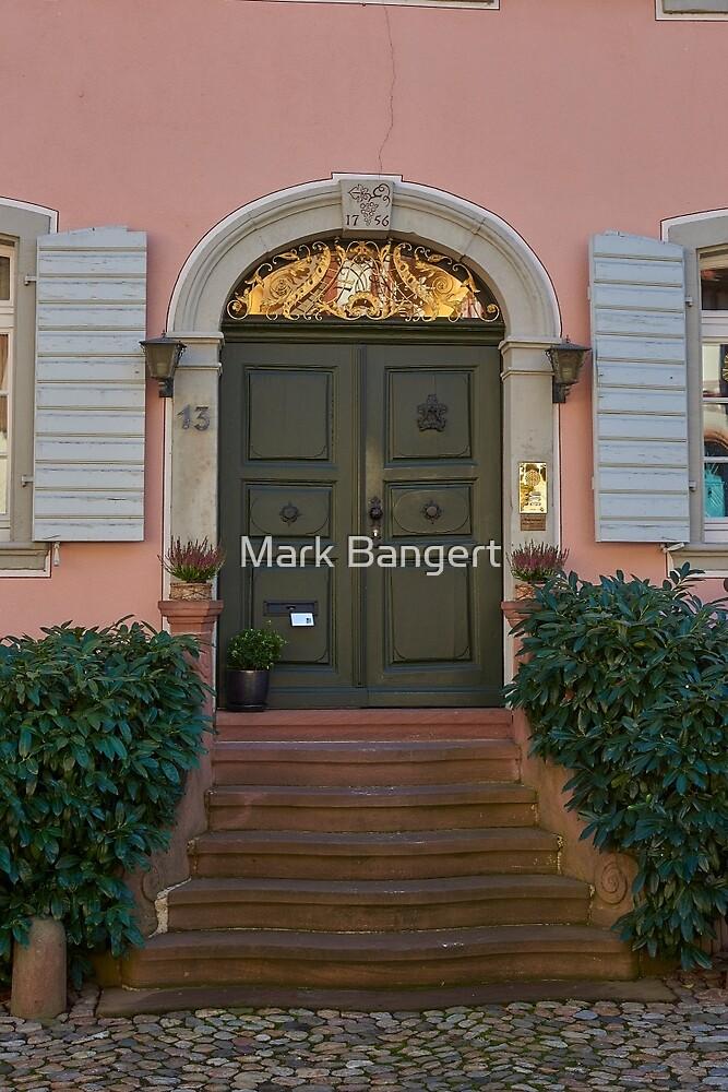 Burkheim, Kaiserstuhl - door detail by Mark Bangert