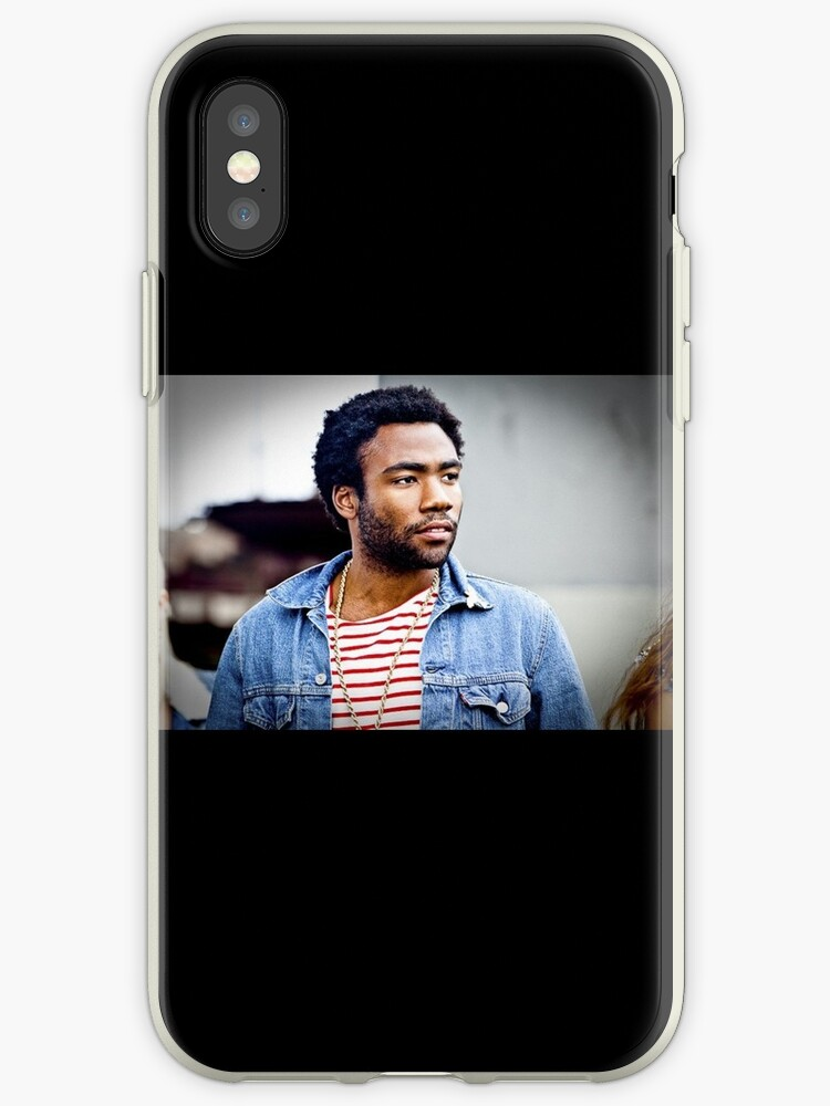 Donald Glover / Childish Gambino iPhone 4 Case by broe7788