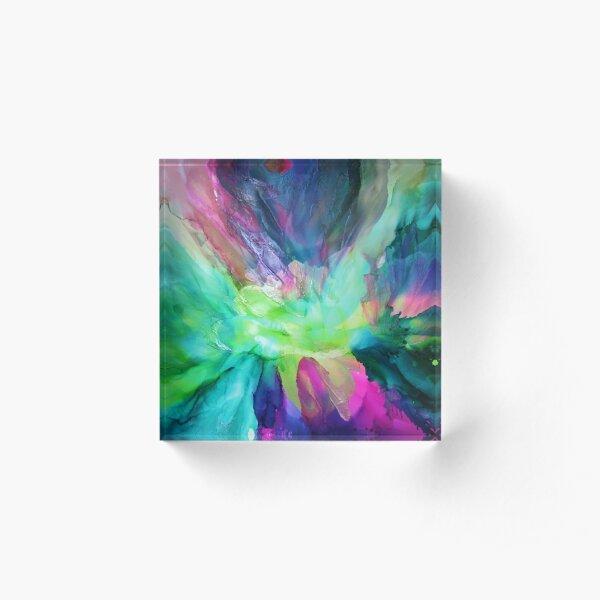 Eden Lotus Acrylic Block