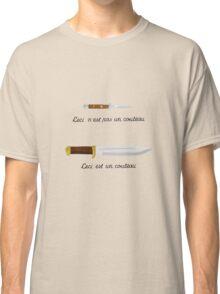 Crocodile Magritte Classic T-Shirt