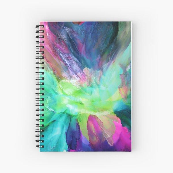 Eden Lotus Spiral Notebook