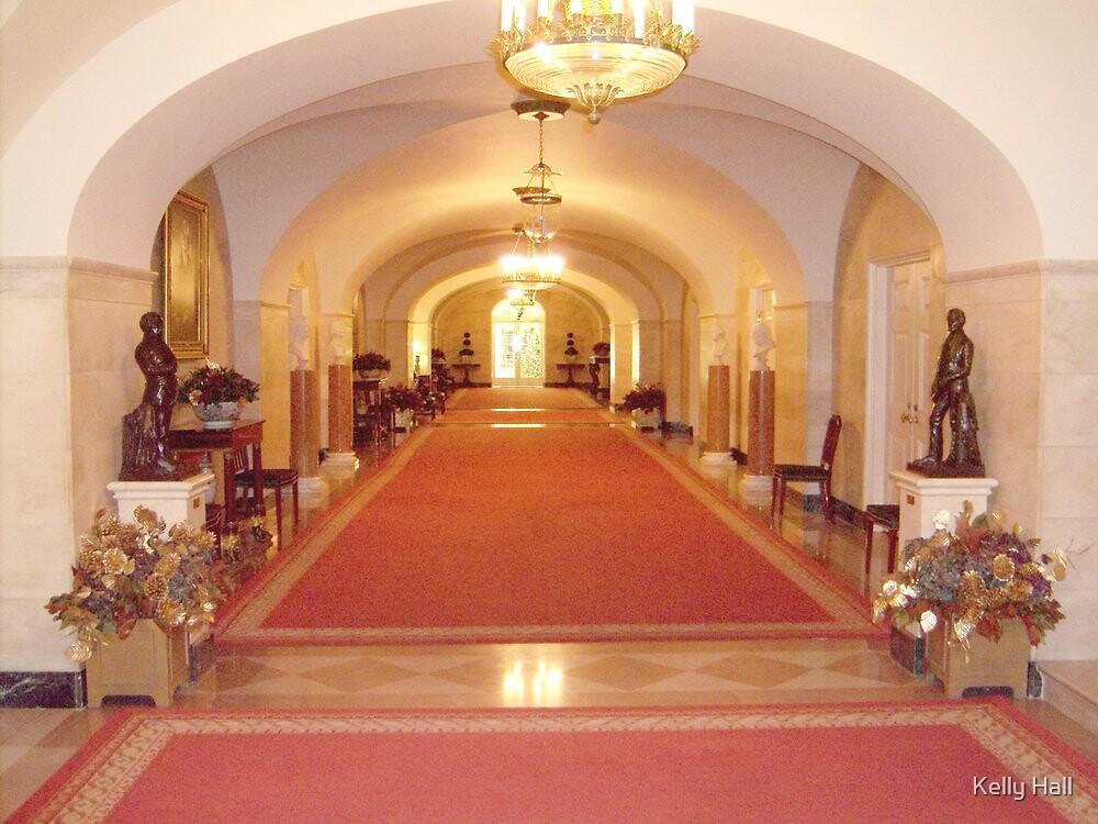White House hallway by nutty1kel