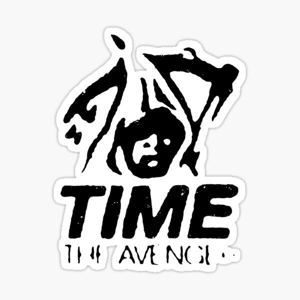 """""""Time the Avenger"""" Sticker"""