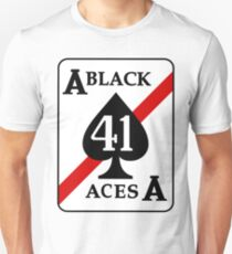 VFA-41 / VF-41 Black Aces Patch Unisex T-Shirt