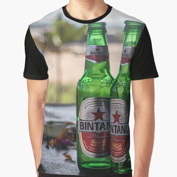 Bali Indonesia Bintang Beer Graphic T-Shirt