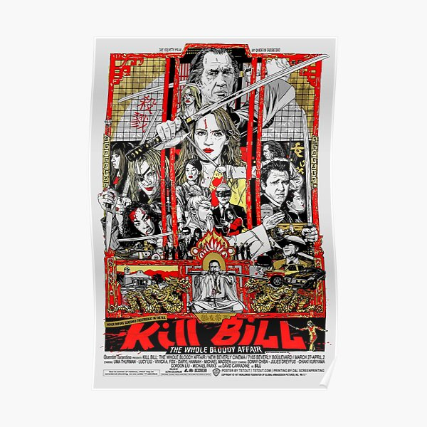Trilogie Kill Bill (HD) Poster