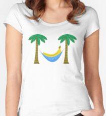 Banana Hammock Women's Fitted Scoop T-Shirt