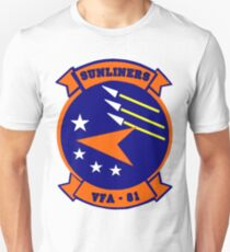 VFA-81 Sunliners Patch Unisex T-Shirt