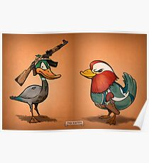 Duck Hunters Poster