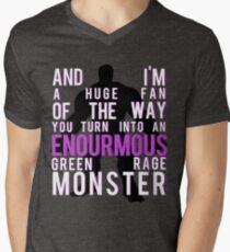 I'm Always Angry Men's V-Neck T-Shirt