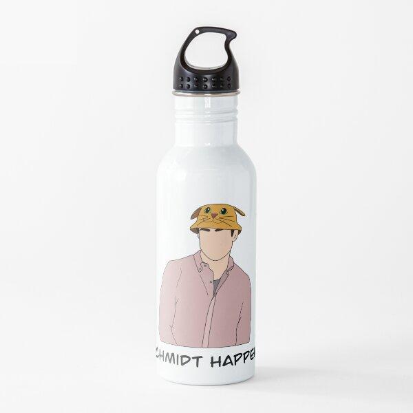 Schmidt Happens - Yellow Cat Bucket Hat Water Bottle