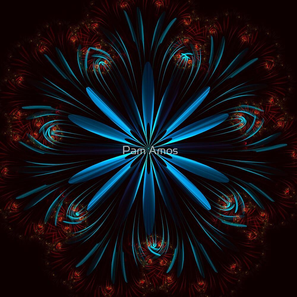 Flower Vortex by Pam Amos