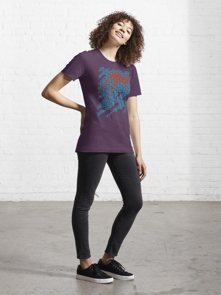 Alternate view of Kangaroo mosaic Essential T-Shirt