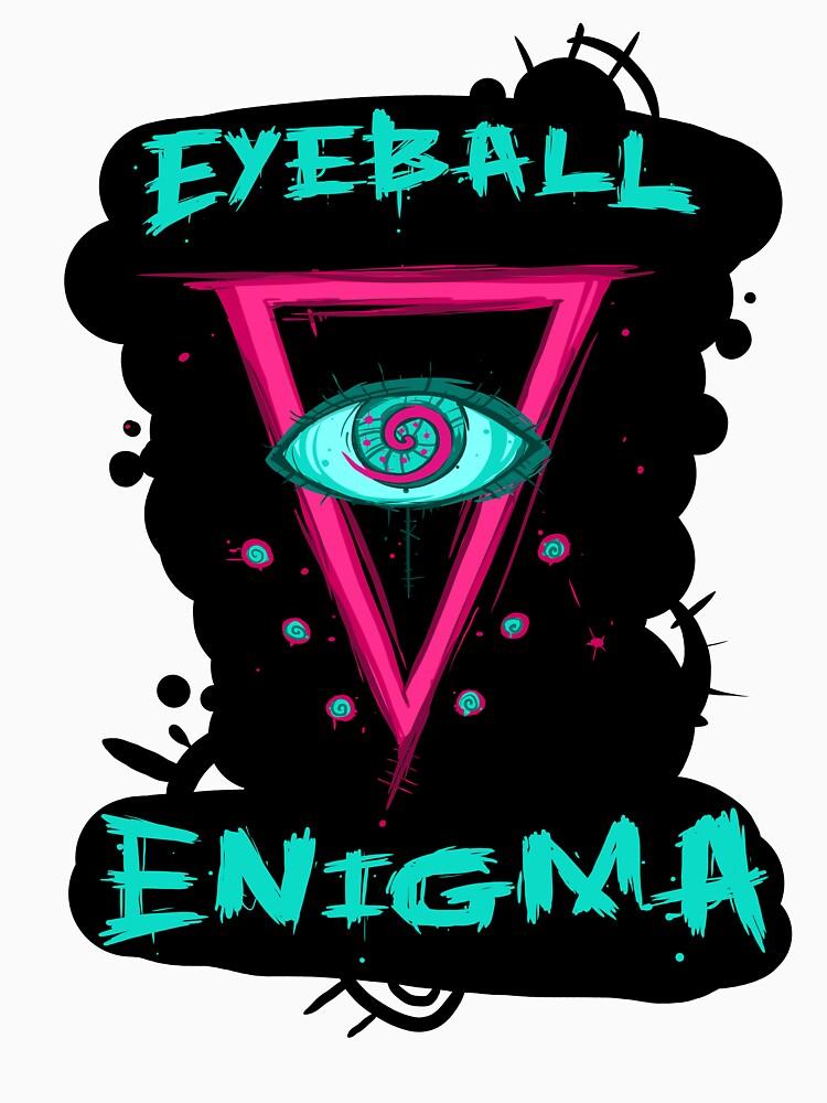 Eyeball Enigma Logo by squidbiscuit