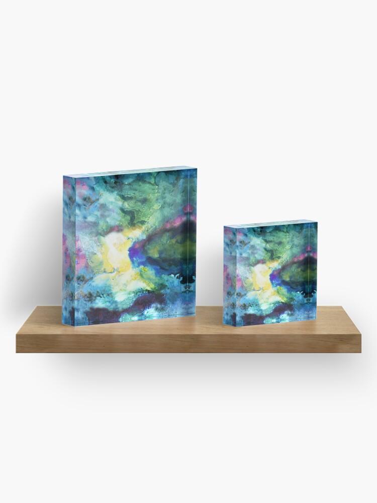 Alternate view of Timeless Universe Acrylic Block