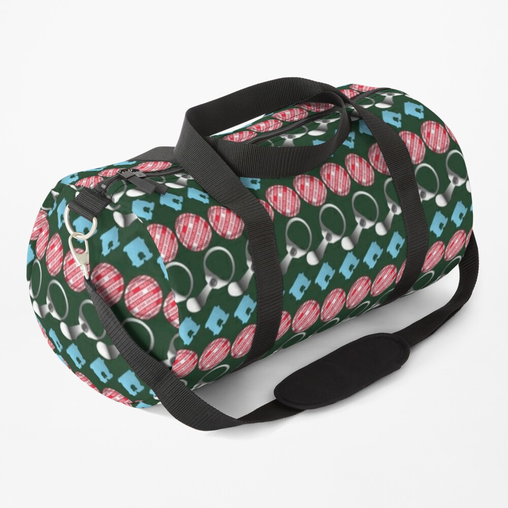 NDVH Retro-Litter Stripes Duffle Bag